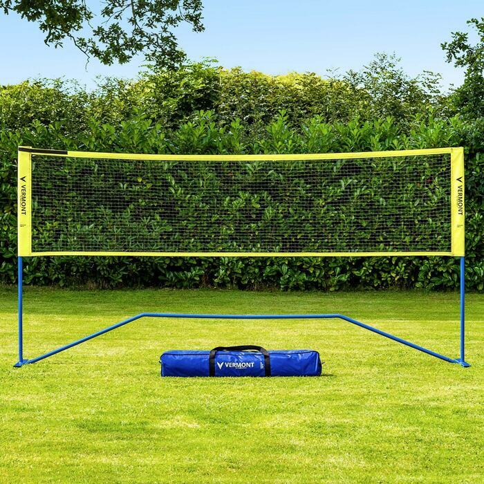 Portable Mini Tennis & Badminton Net With Carry Bag