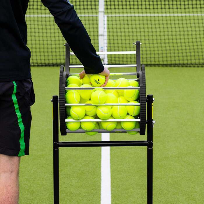 85 Capacity Tennis Ball Basket | Tennis Coaching Equipment