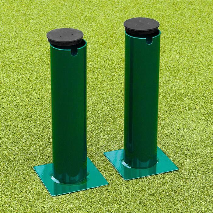 Tubular Steel Ground Sockets For 76mm Round Tennis Posts