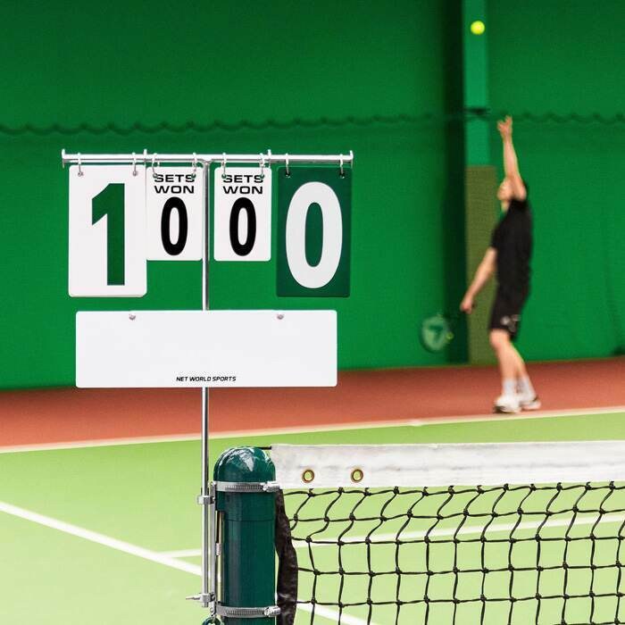 High Visibility Scoreboard For Tennis Courts | Tennis Court Equipment
