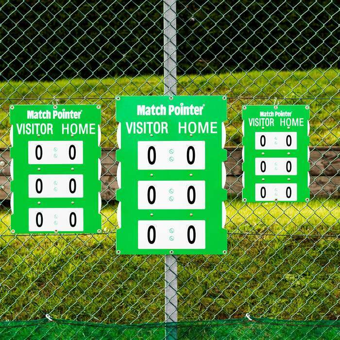 Professional Tennis Scoreboards | 3 Sizes Available