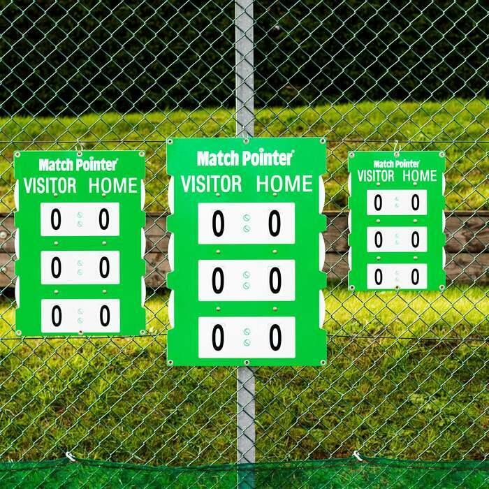 Professionelle Tennis Anzeigetafel | 3 Größen erhältlich