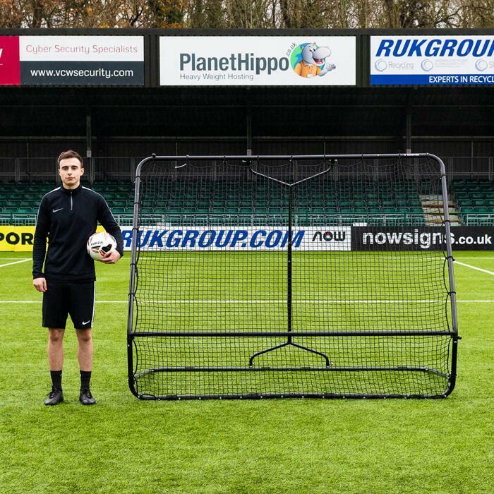 Rebound Net For Goalkeeper & Flat Passing Drills