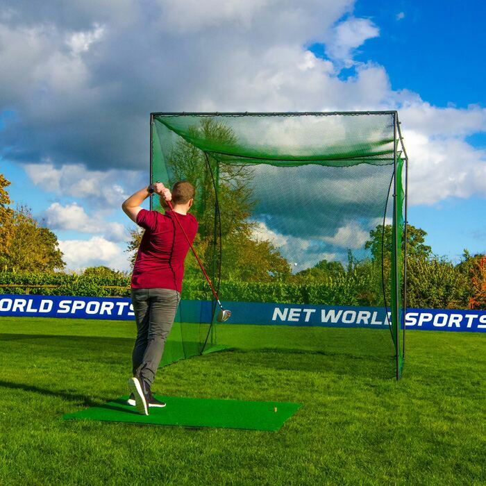 Golf Hitting Cage For The Back Garden | Freestanding Golf Cage