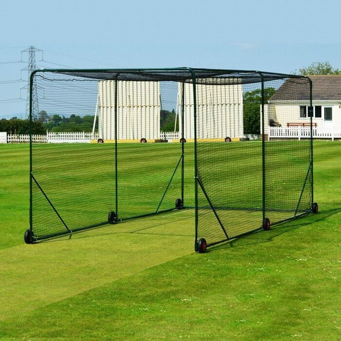 Freestanding Mobile Baseball Batting Cage | Baseball Training Equipment
