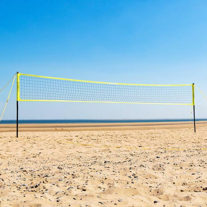 FIVB Regulation Volleyball Net & Posts | Beach & Regulation Volleyball Courts
