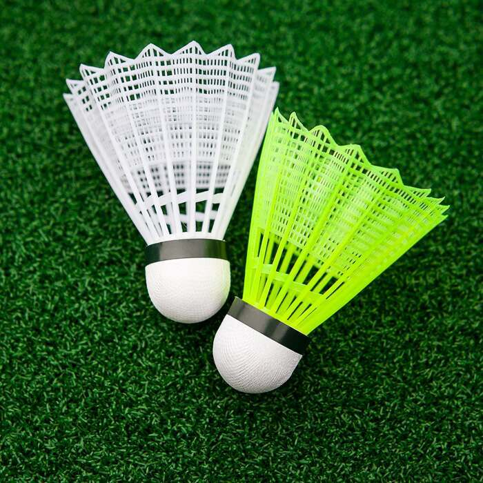Club Grade Synthetic Shuttlecocks | Durable Performance