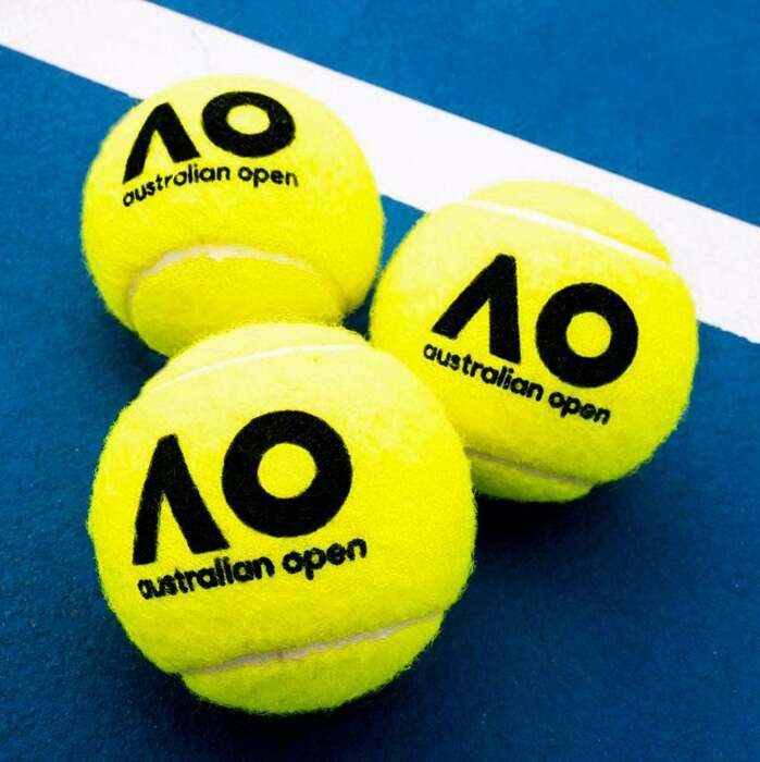 Official Tennis Balls Of The Australian Open | ITF Approved