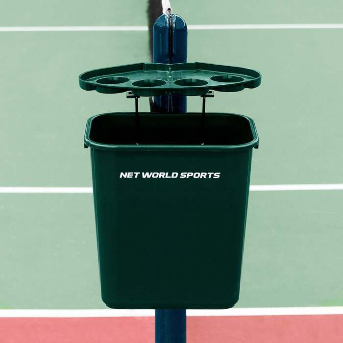 Professional Tennis Court Bin & Shelf | Tennis Court Equipment