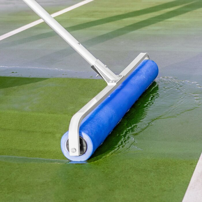 Blue PVA Tennis Court Roller Squeegee | Tennis Court Equipment