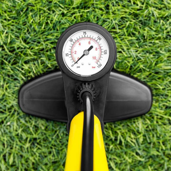 Pump with Pressure Gauge | Stirrup Ball Pump