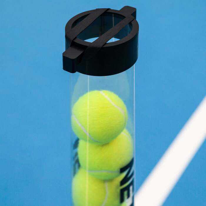Easy Tennis Ball Collection | Heavy Duty Rubber Straps