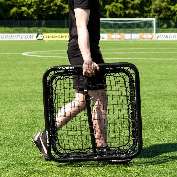 Double-Sided Aussie Rules Football Rebounder | Adjustable AFL Rebound Net