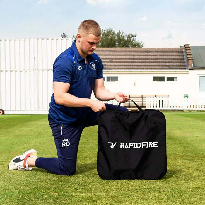 Cricket Rebound Net With Easy-Grip Handles | Fielding Practice Equipment