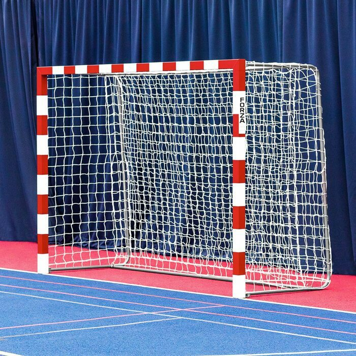 3m x 2m Competition Handball Goals | IHF Regulation Sized Handball Goal