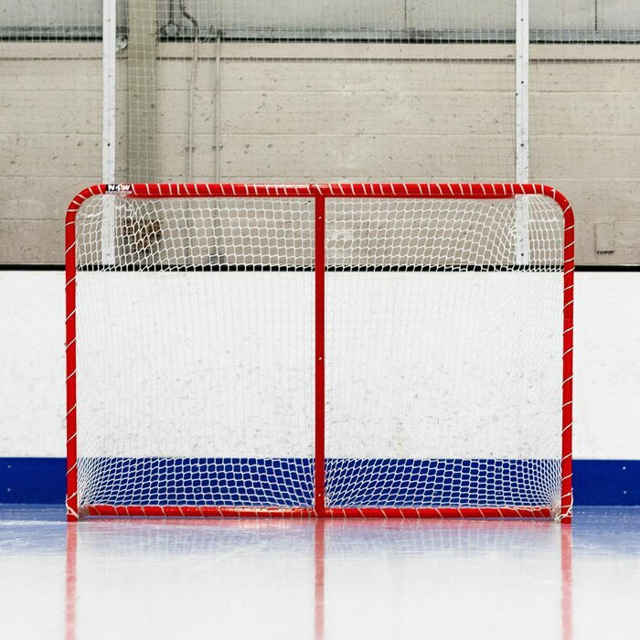 Regulation Hockey Goal | Galvanized Steel Frame