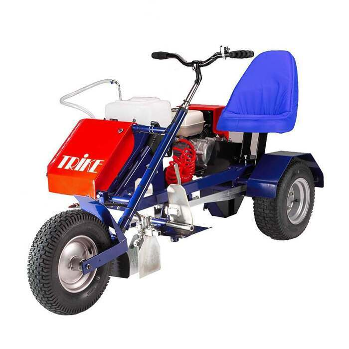 185cm x 96cm 3 Wheeled Line Marking Machine
