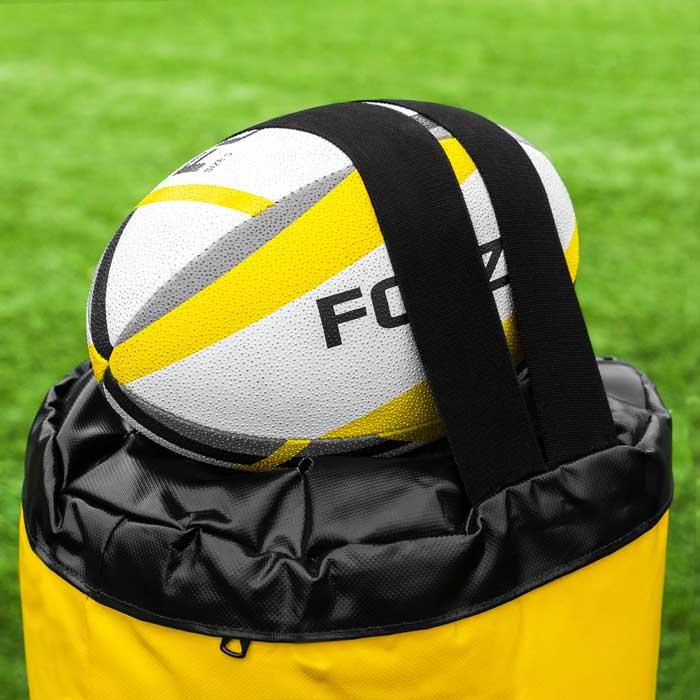 Full-höjd Rugby Tacklingmål med kraftiga remmar