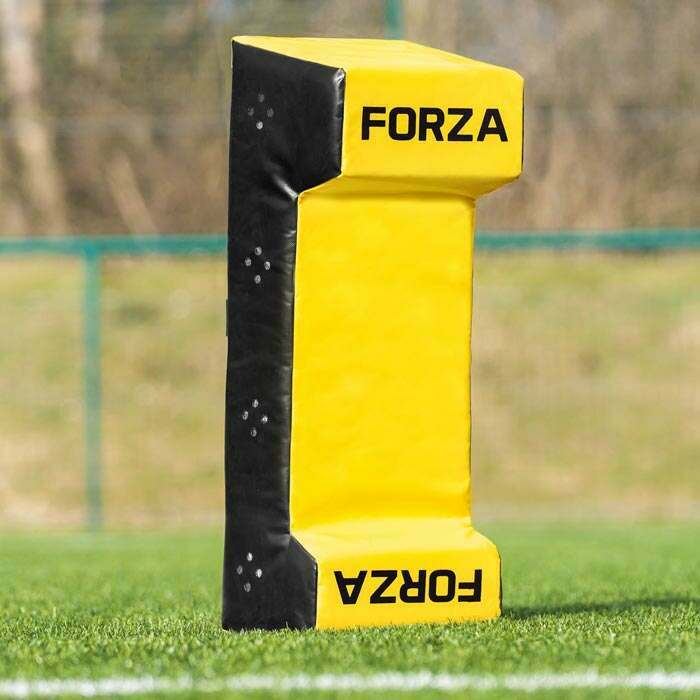 Dual-Wedge AFL Tackle Shield