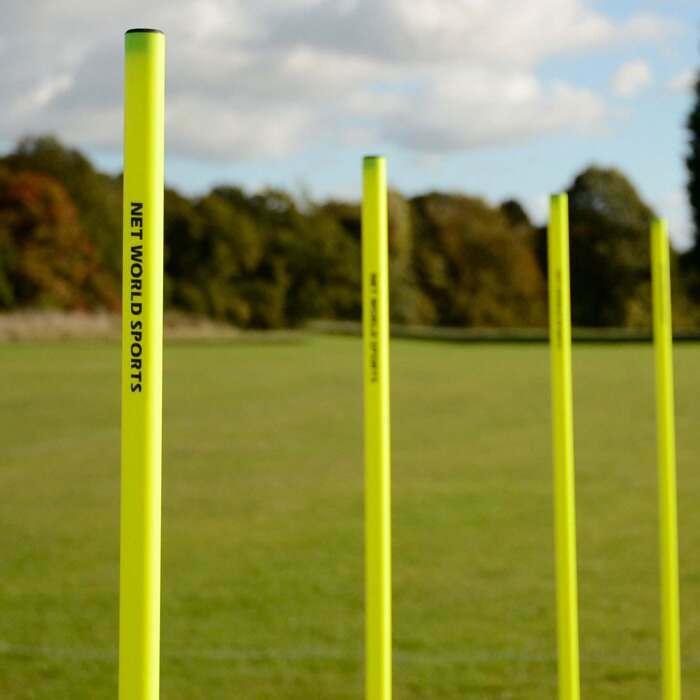 Pali da slalom da 1,5 o 1,8 m per sessioni di allenamento AFL