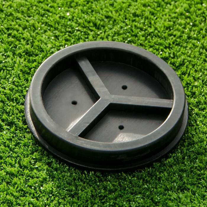 Ultra-Durable Plastic Tennis Post Ground Sockets | Tennis Court Equipment