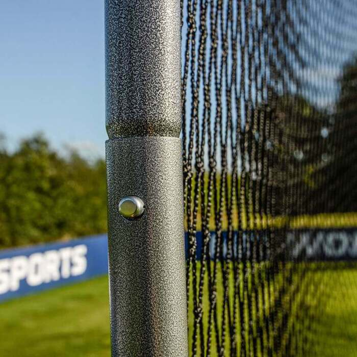 Galvanized Steel Ball Stop Net Posts | Ball Stop Posts For Soccer Balls