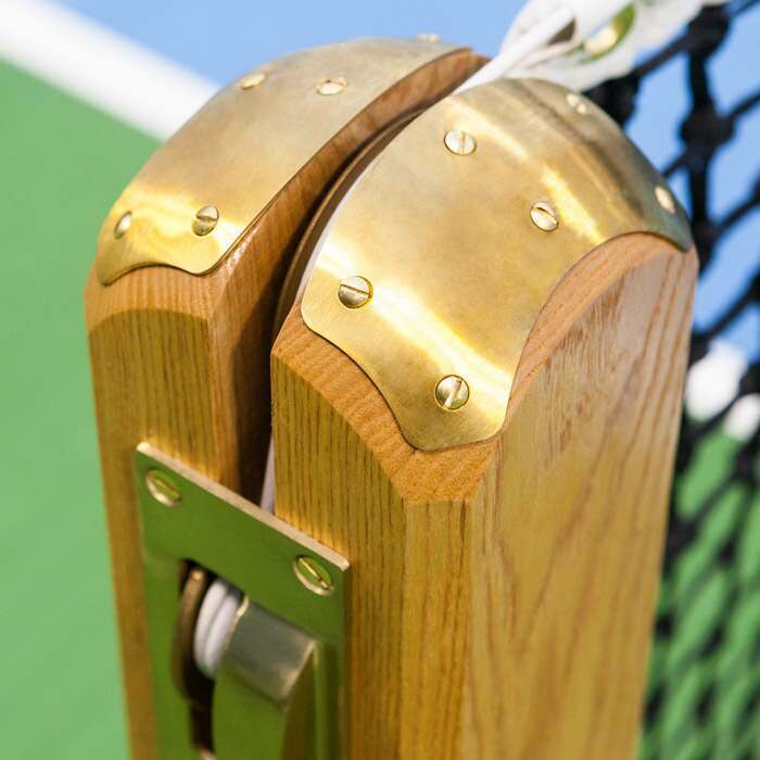 Treated Wooden Tennis Posts | ITF Tournament Regulation