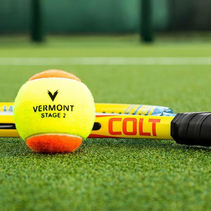 Mini-Tennisbälle für 8 Jahren und 9 Jahren | Stufe 2 Mini-Tennisbälle