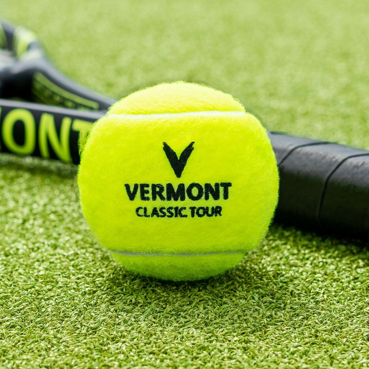 Professional Tennis Balls For Any Tennis Court Surface | Vermont Classic Tour Tennis Balls