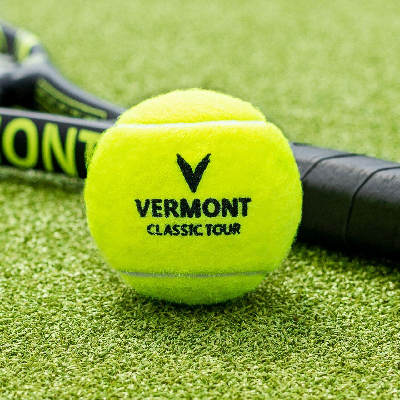 Professionele Tennisballen voor alle tennisterreinen | Vermont Classic Tour Tennisballen