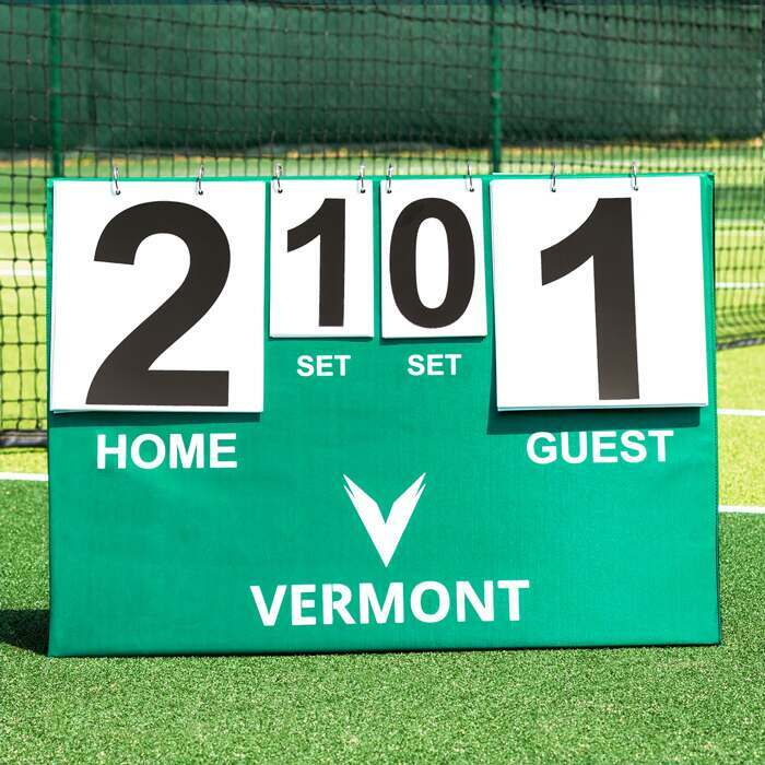 High-Visibility Tennis Scoreboards | Portable Scoreboards