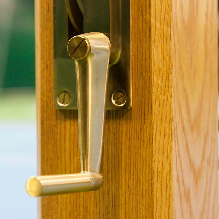 Premium Brass Winder Mechanism | Tennis Posts & Tennis Nets