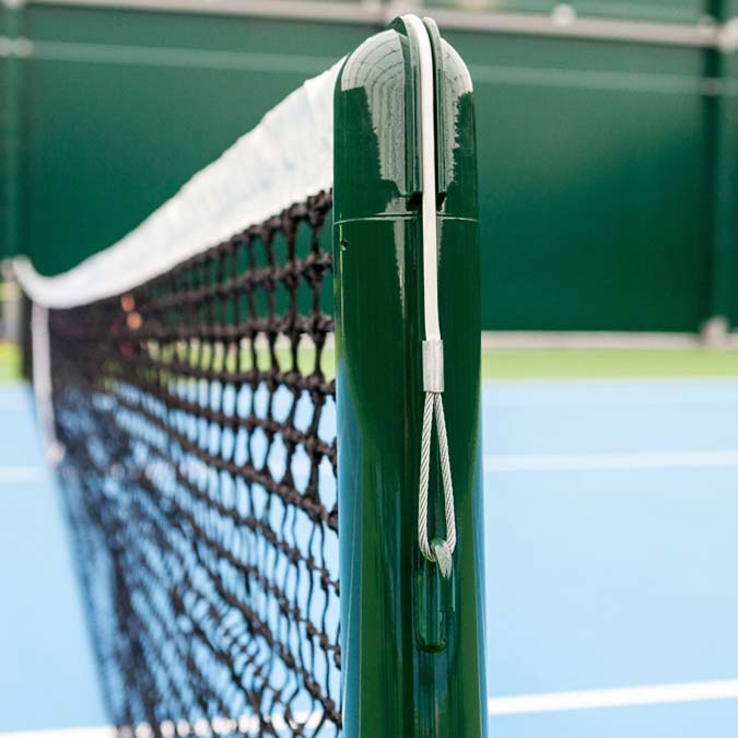 Compatible With All Standard Tennis Posts | Tennis Net Cable