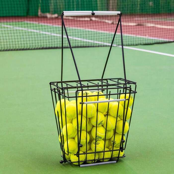 72 Kapazität Tennisball Hopper | Tennis Coaching Ausrüstung