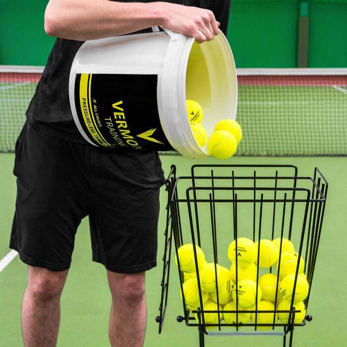 Tennis Ball Basket With 72 Ball Capacity
