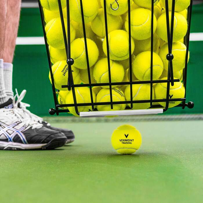 Tennis Ball Hopper | Easy Tennis Ball Pick-Up