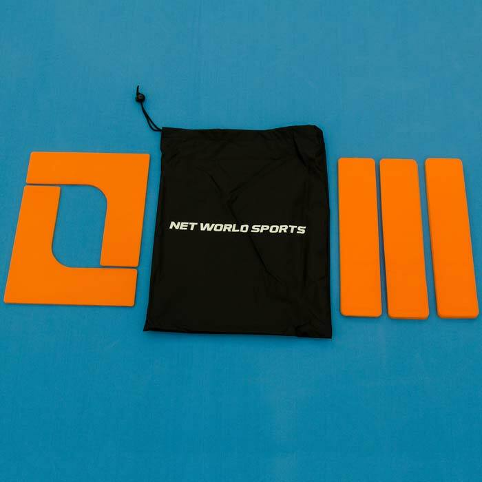 Ultra-Durable Tennis Court Markers   Pack Of 16 Throwdown Court Lines