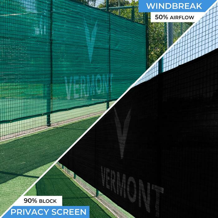 Professional Grade Tennis Court Windbreaks | Tennis Court Privacy Screens