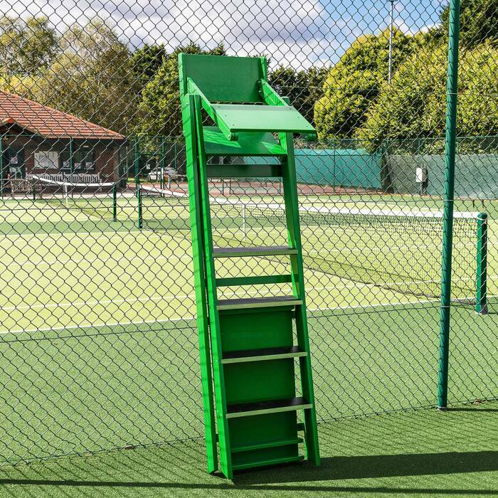 Tennis Umpires Chair With Easy-Fold Design | Excellent For Storage