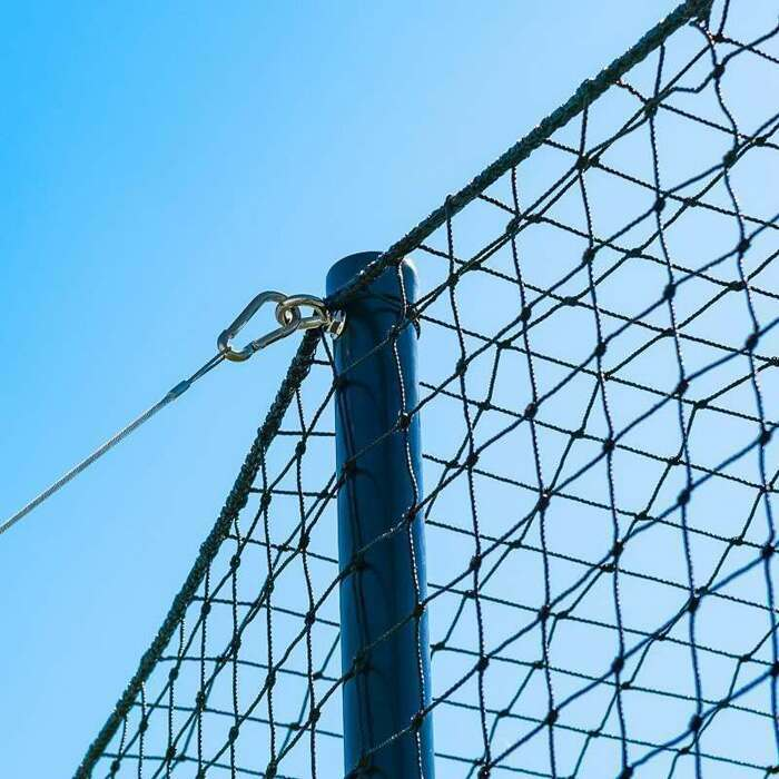 Heavy-Duty Cricket Netting | Steel Poles For Cricket Cages