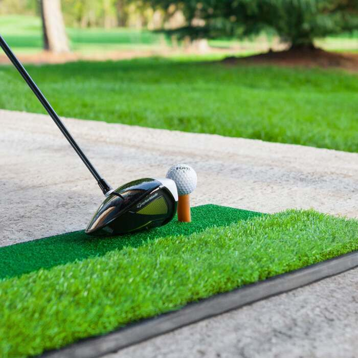 Supports d'Entraînement de Golf – Mini Tapis de Golf