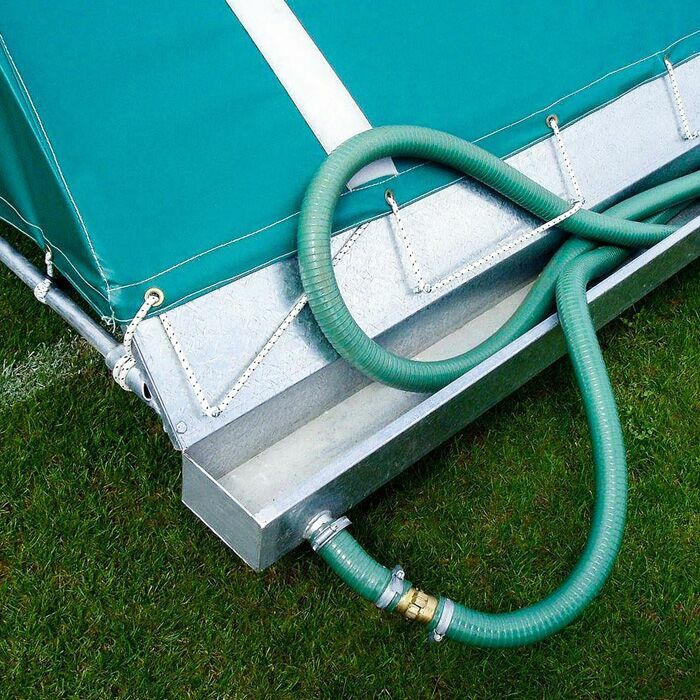 Cricket Pitch Covers With Drainage Pipe