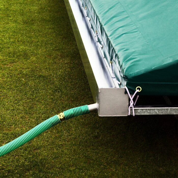 Mobile Cricket Pitch Covers For Test Match Cricket