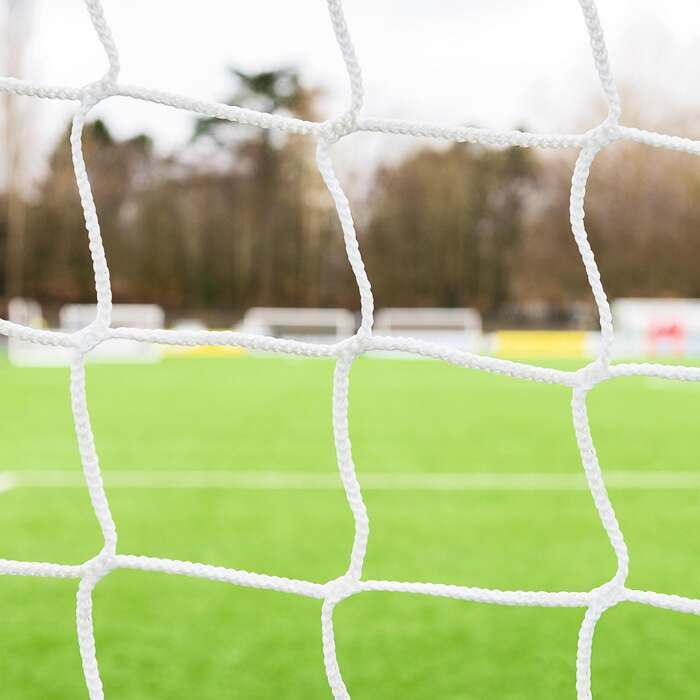 5mm Thick Stadium Box Football Goal Nets For Professional Matches | Premium Quality Box Football Nets