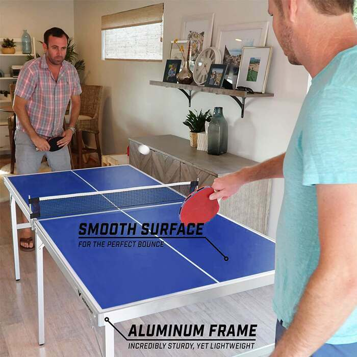 Table Tennis Table Size