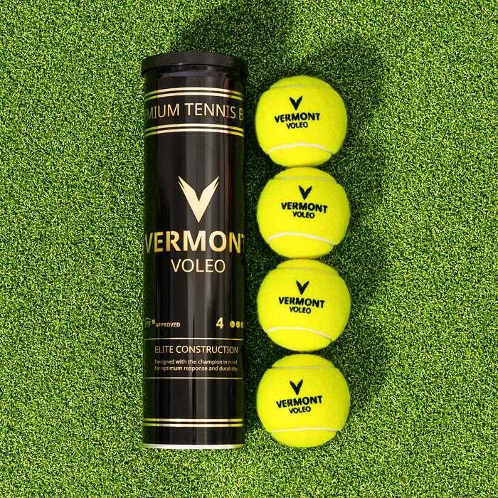 Vermont Balles de Tennis Approuvées para la ITF | Balles de Tennis pour les Tournois