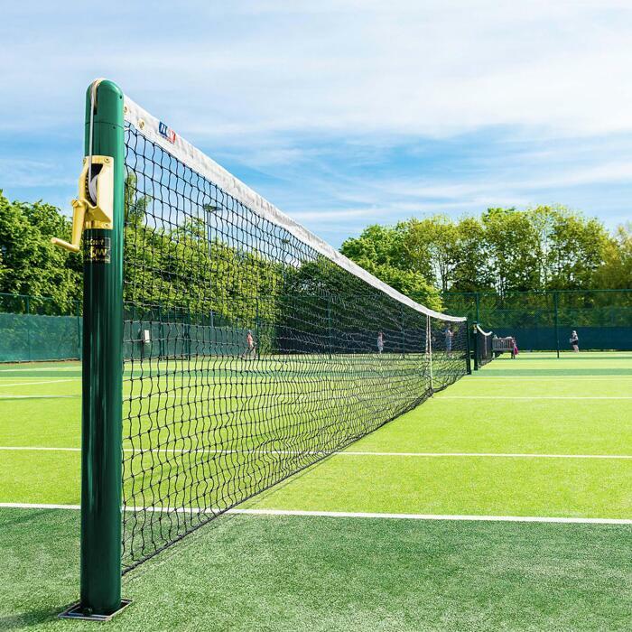Professionelles Tennisnetz für alle Standard Tennispfosten | Vermont Tennisnetz