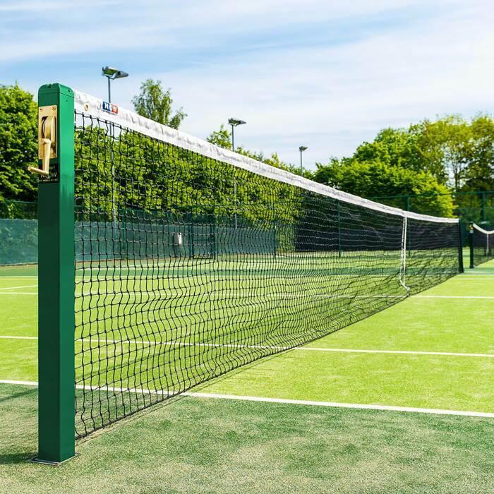 3mm Filet pour Courts de Tennis | Compatible Avec Tous les Poteaux de Tennis