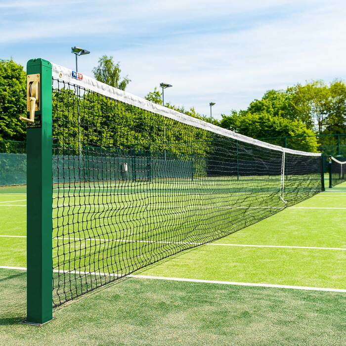 Doubles Regulation Tennis Net | Compatible With All Tennis Posts