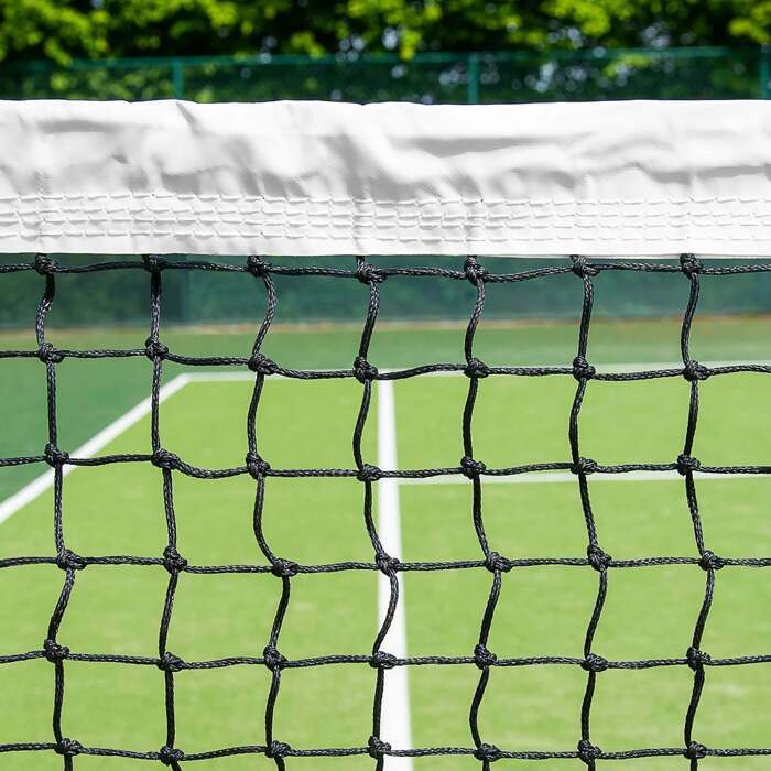 100% Weatherproof Tennis Net With Elite Twine Construction